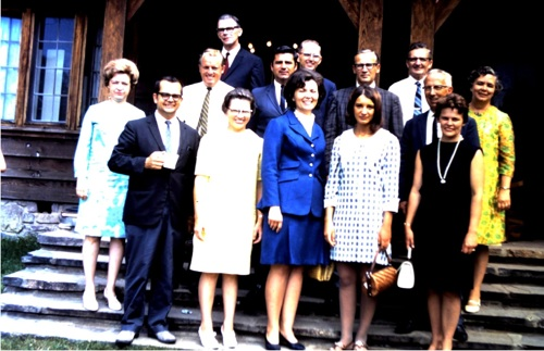 Staff from the Presbytery of the Dakotas in the early 70s