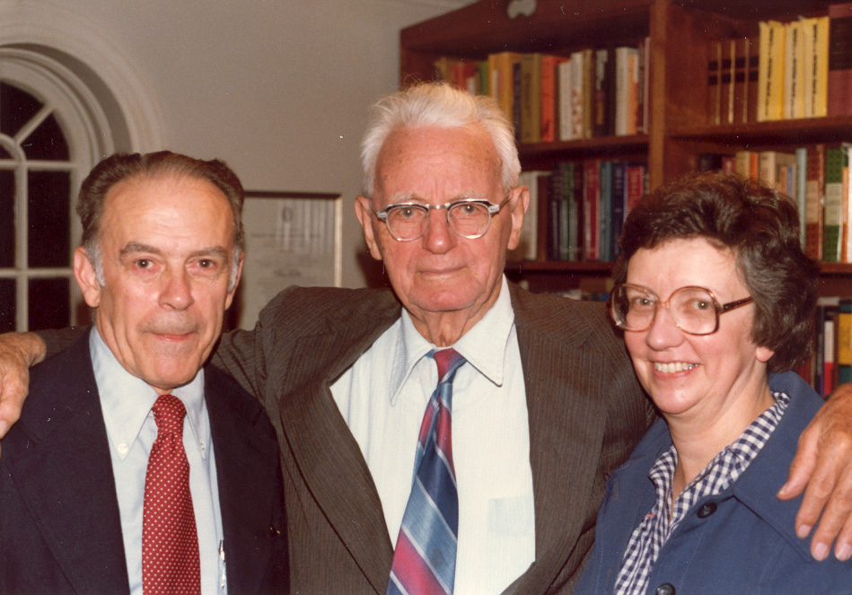 Herbert Muether, Cornelius Van Til, and Anne Muether