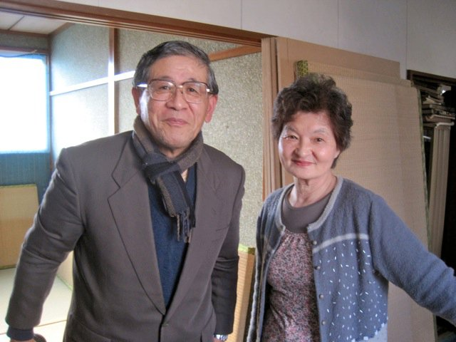 Pastor and Mrs. Shiratsu