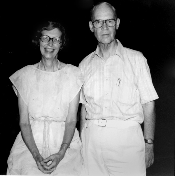 Betty and Egbert Andrews