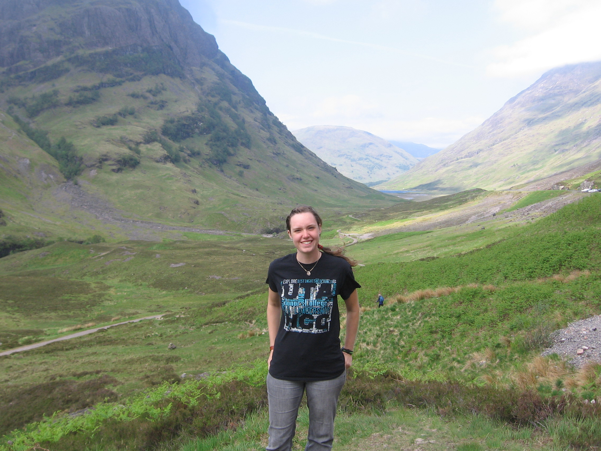 Hannah Keller in Scotland